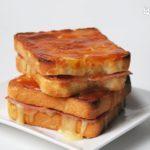 Sandwich de jamón y paté de brie