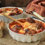 Albóndigas sicilianas al horno