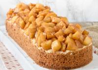 Appelslof (tarta de manzana con crema)