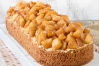Appelslof: tarta de manzana y crema