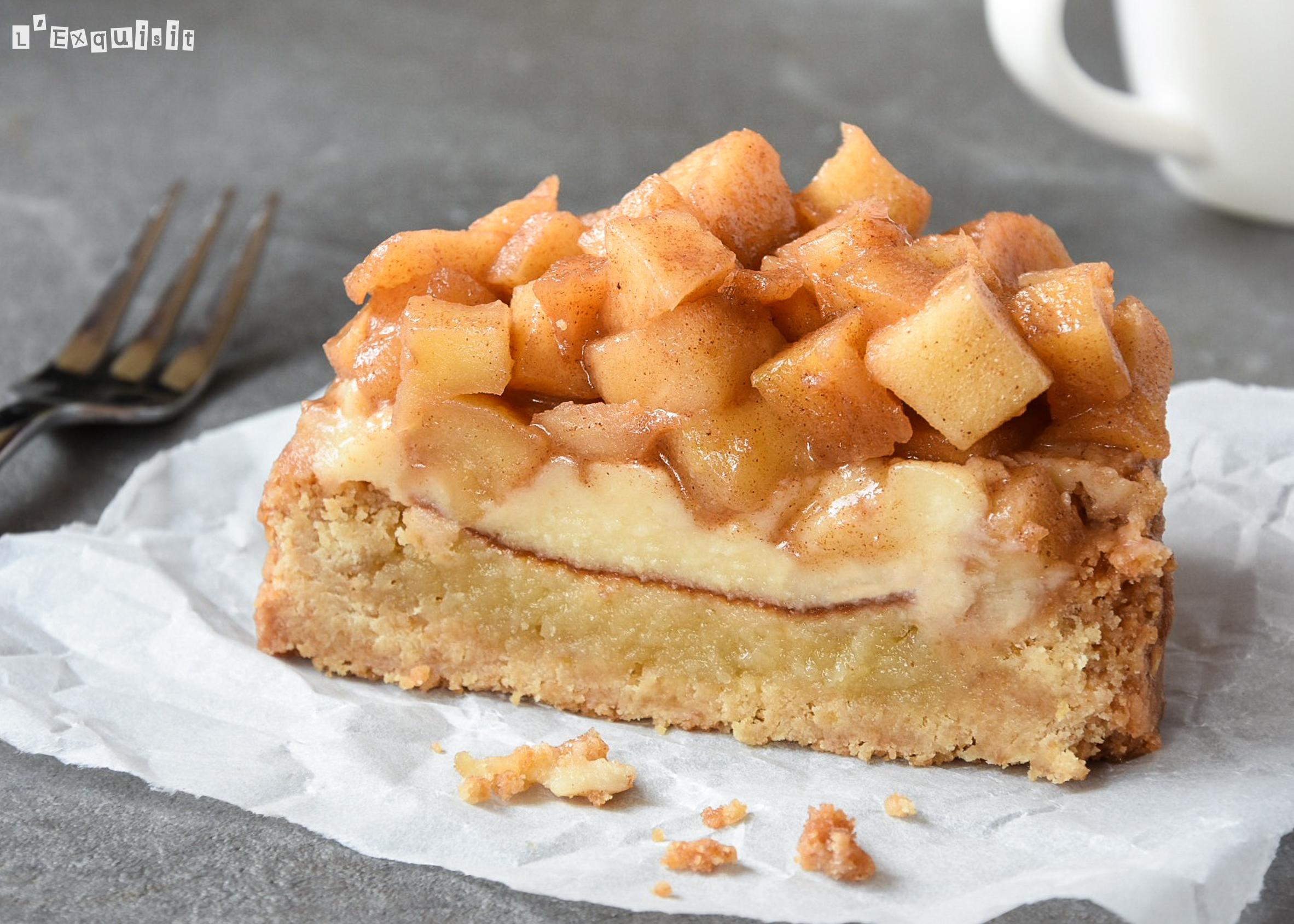 Appelslof (tarta de manzana y crema)