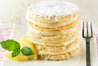 Bizcocho de avellanas y almendras con crema de limón