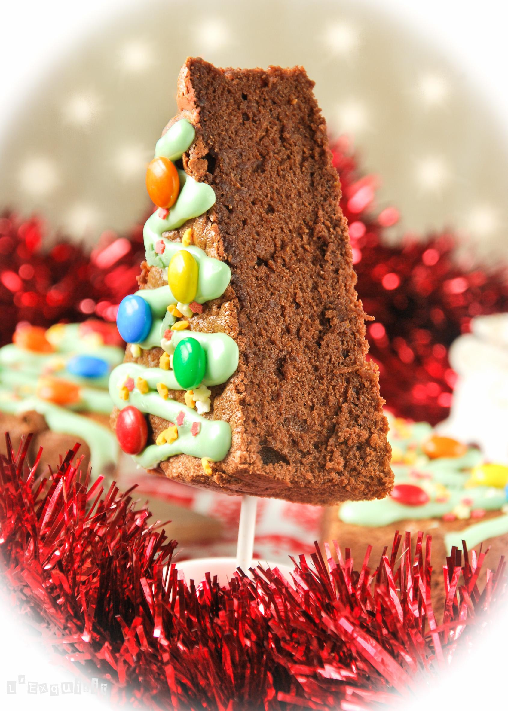 Bizcocho de chocolate y naranja {Idea para Navidad}-2