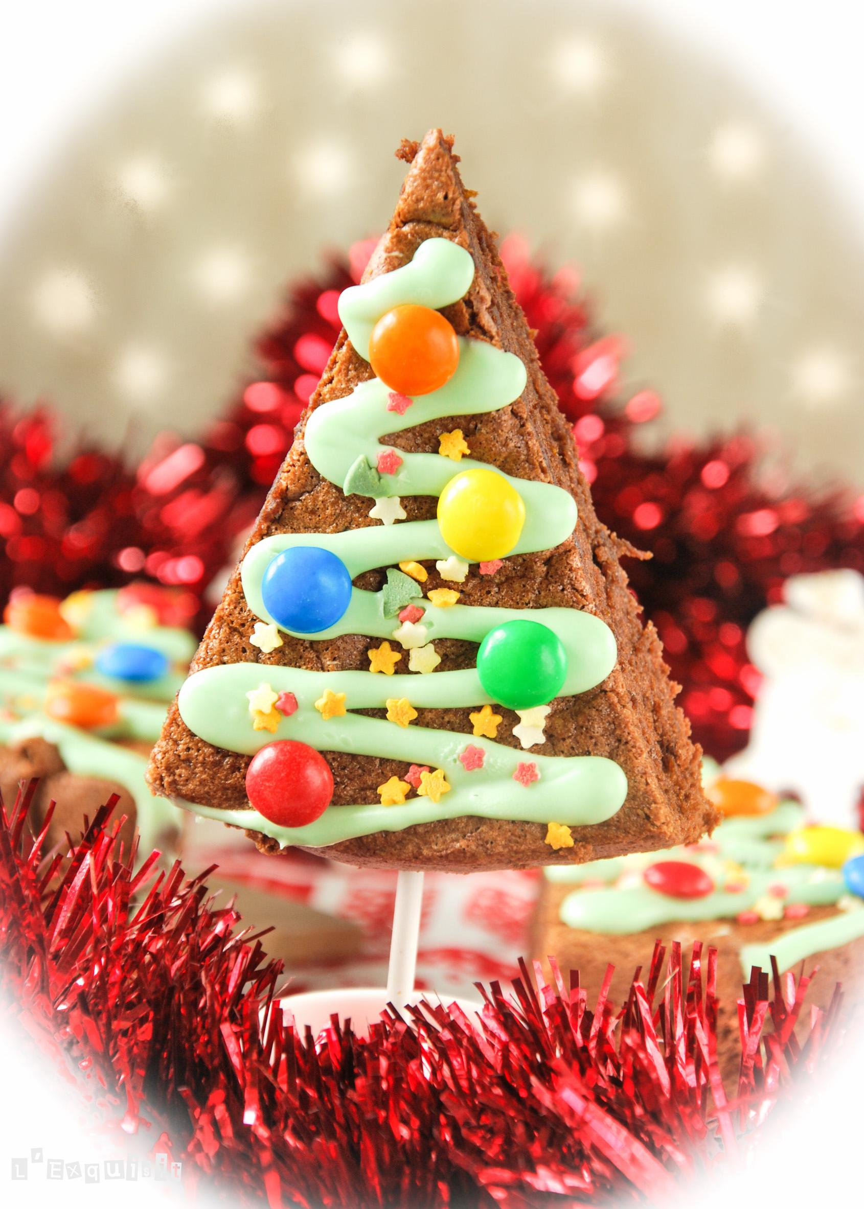 Bizcocho de chocolate y naranja {Idea para Navidad}