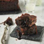 Bizcocho de platano y chocolate