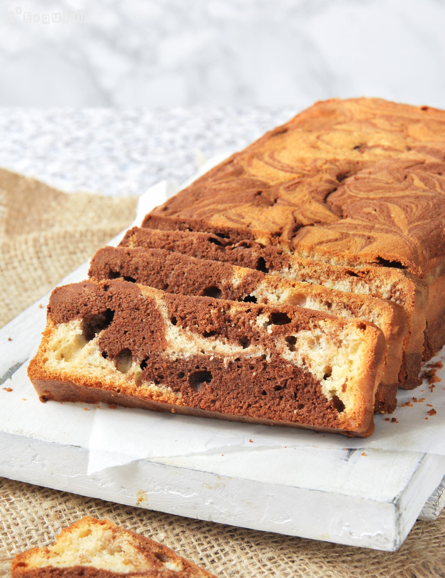 Bizcocho de vainilla chocolate 2