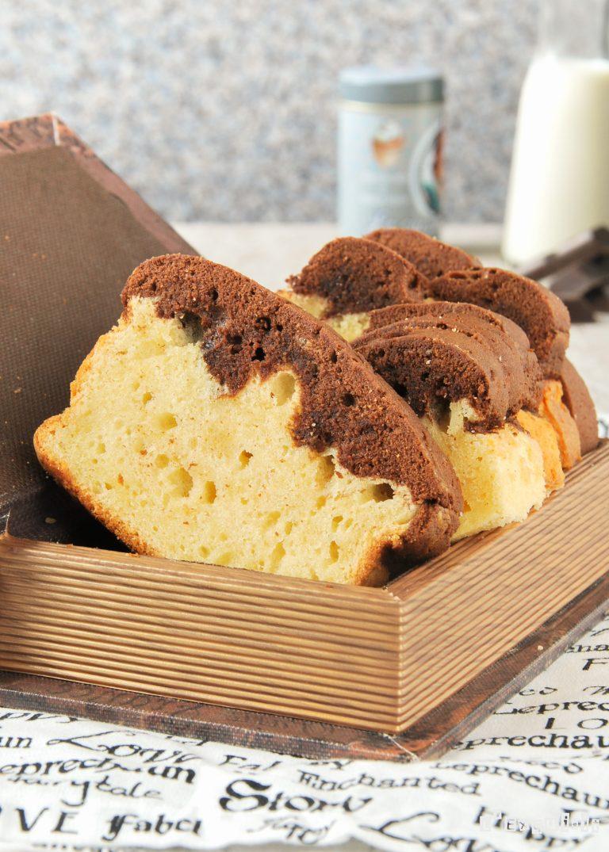 Bizcocho de vainilla chocolate