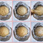 Bizcocho relleno de crema con manzana {paso a paso}
