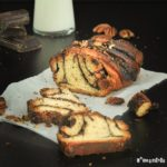Brioche de chocolate y nueces