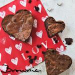 Brownie sin gluten {idea para San Valentín}