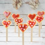 Corazones de bizcocho y fresa {idea para San Valentín}