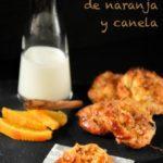 Crujiente de hojaldre con naranja y canela