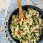 Curry de patatas al yogur