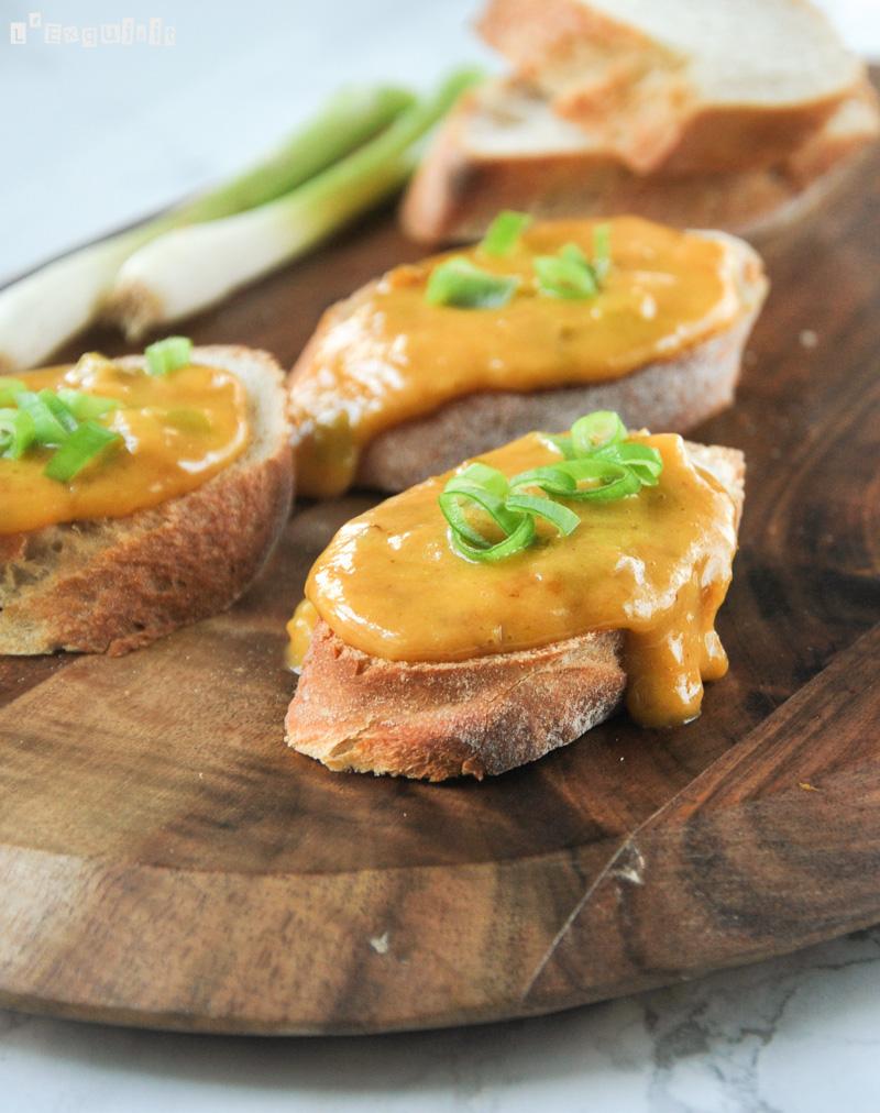 Dip de queso y mostaza