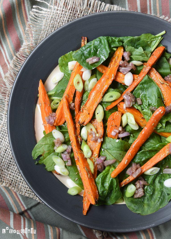ensalada-templada-de-zanahorias-y-espinacas