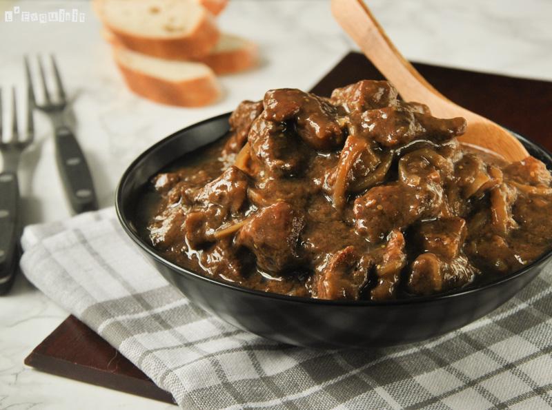 Estofado belga de carne