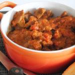 Estofado al curry