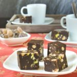 Fudge de chocolate y frutos secos