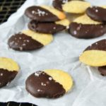 Galletas de maiz y chocolate {al toque de sal}