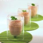 Mousse de coliflor con sésamo
