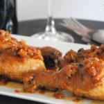Muslitos de pollo con hinojo y salsa de soja