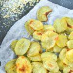 Patatas con sal al limón y romero {horno}