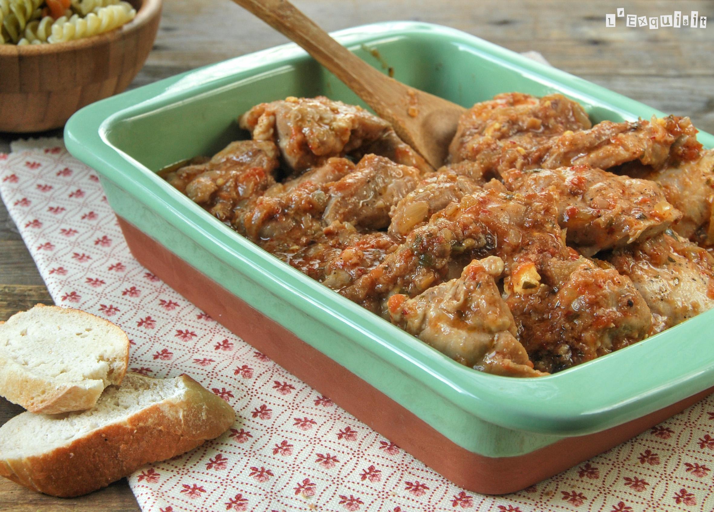 Pollo en salsa - batzoki
