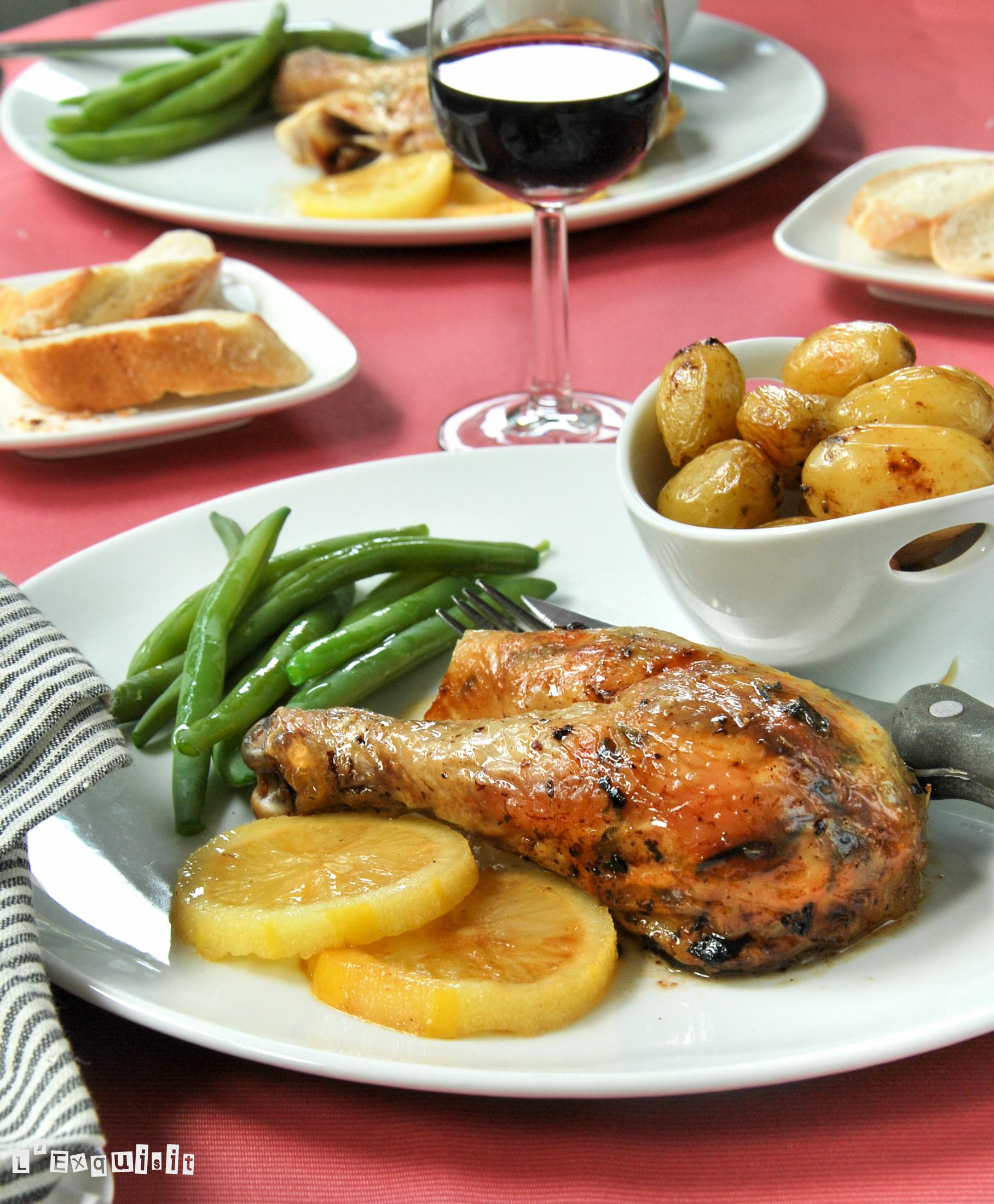 Pollo al limón y tomillo-2