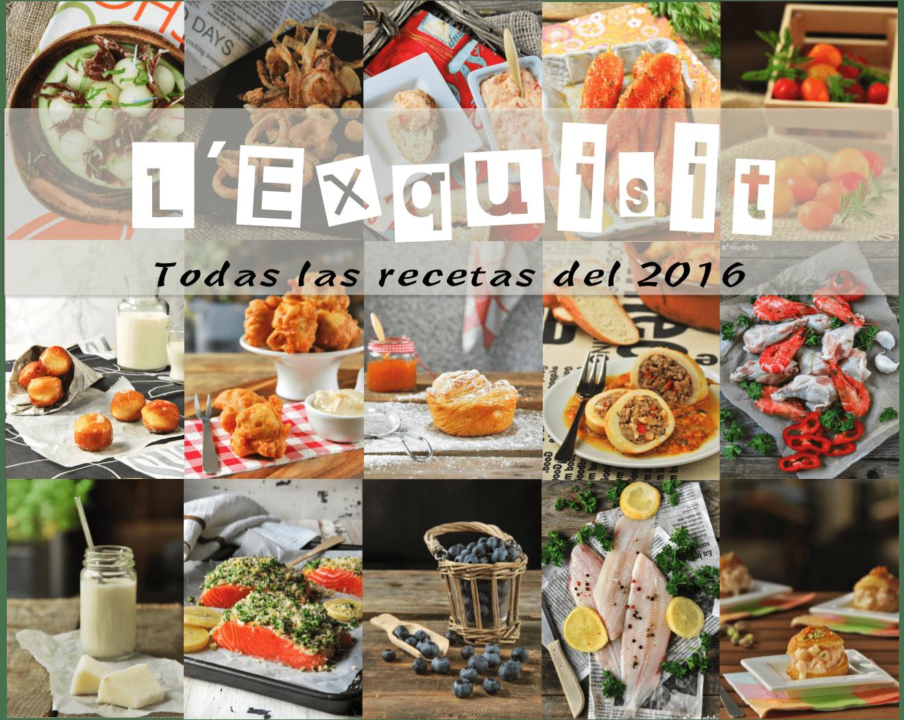 Recetario 2016