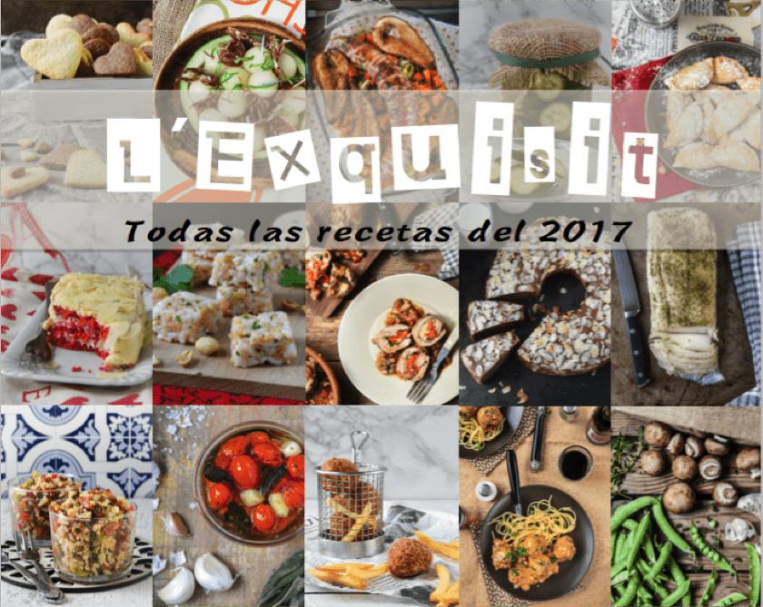 Recetario 2017