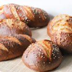 Panecillos pretzel