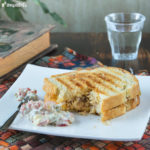 Sandwich caliente de atún
