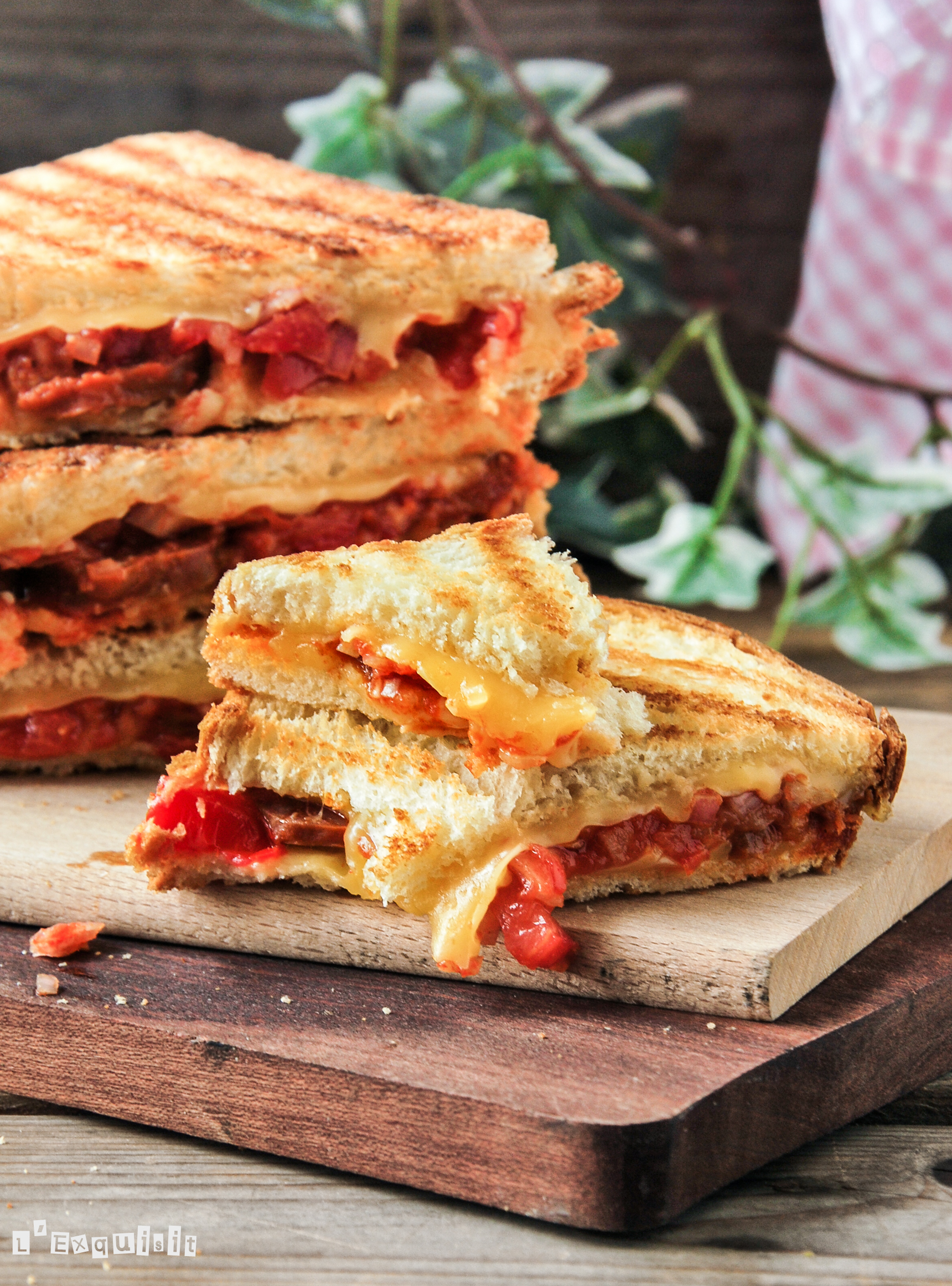 Sandwich de chorizo