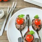 Tapenade de atún con tomatitos