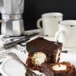 Tarta de chocolate rellena de mascarpone {sin gluten}
