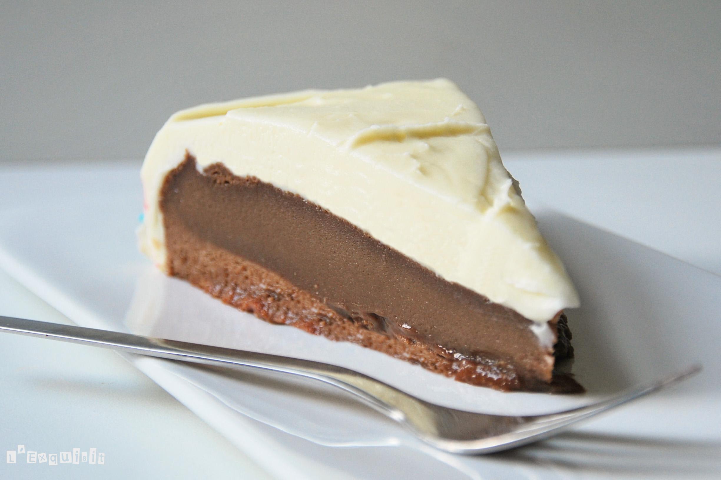 Tarta de chocolate y frosting de mascarpone