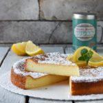 Tarta de queso al limón {sin gluten}