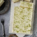 Tarta de queso y chocolate blanco {sin horno}