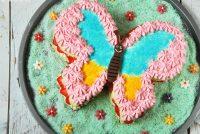 Tarta mariposa (con fresas)