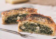 Tartaleta philo de espinacas y queso