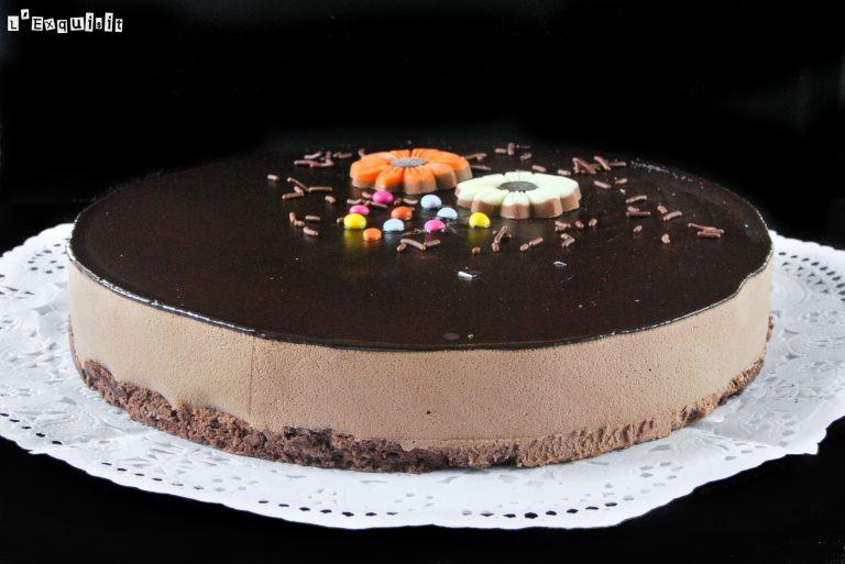 Triple pecado de chocolate (formato tarta)