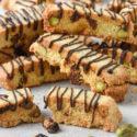 Biscotti de pistachos {sin gluten}