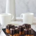 Bizcochitos de naranja con chocolate {con y sin gluten}
