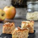 Bizcocho de compota de manzana