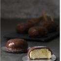 Bocaditos de lemon curd y chocolate