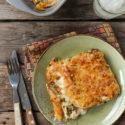 Canelones de pollo y calabaza {con y sin gluten}