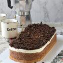 Cheesecake de cafe y chocolate {sin horno}