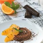 Chocolate trufado con naranja