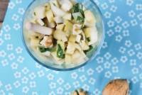 Ensalada de manzana, espinacas y endibias