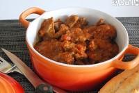 Estofado de carne al curry